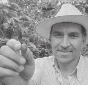 Jacobo ENRIQUE VILLEDA - Producteur de café de la coopérative